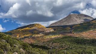 *La Sal Mountains in autumn*