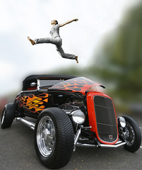 All In A Dream (swong95765) Tags: hotrod awesome bokeh classic ford skateboard spectacle stunt vintage