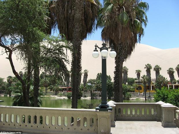 Không ai ngờ rằng, giữa sa mạc cằn cỗi bậc nhất thế giới lại có một thị trấn xanh tươi đến vậy - Ảnh 9.
