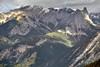 Views of Mount Cory and Other Jagged Peaks from  Sulphur Mountain Cosmic Ray Station (Banff National Park) (thor_mark ) Tags: nikond800e lookingnw day2 triptoalbertaandbritishcolumbia banffnationalpark capturenx2edited colorefexpro mountlouis mountcory mountedith sawbackrange canadianrockies centralfrontranges sawbackslateranges outside nature landscape overcast rockymountains mountains mountainsindistance mountainsoffindistance trees hillsideoftrees evergreens canvas portfolio project365 atopsulphurmountain alberta canada absolutelystunningscapes