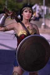 Montreal Otakuthon 2017 - Wonder Woman (Besisika) Tags: montreal otakuthon cosplay cosplpayer costume outdoor flash strobe wonder woman sabre canon 135mm f2 pose posing