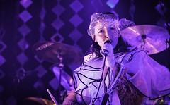 Little Dragon at the 9:30 Club, Washington, D.C. 08/09/17 (RedTessFreelance) Tags: 930club littledragon washingtondc parklifedc yukiminagano color concert livemusic singer band performer