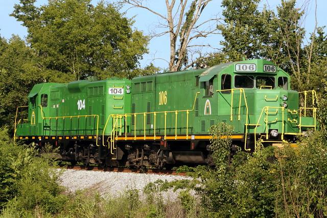 Caney Fork & Western 104 & 106