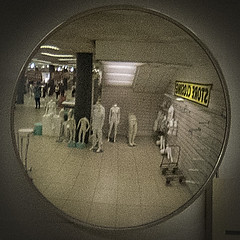 Closing time (andrewsage73) Tags: mannequins shop mirror bhs aberdeen reflection