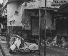 Corner (Photo Alan) Tags: corner street streetphotography blackwhite blackandwhite black bicycle outdoor orlando