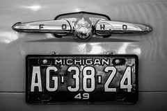 Guns and Horses (Thomas Hawk) Tags: dearborn detroit ford fordnaias michigan museum usa unitedstates unitedstatesofamerica auto automobile car licenseplate thehenryford fav10