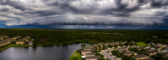 Incoming Storm (DonMiller_ToGo) Tags: mavicpro panoramic shelfcloud nature thunderstorm outdoors aerial panorama sky clouds florida venice unitedstates us