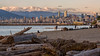 Jericho Beach - Vancouver (Sworldguy) Tags: jerichobeach summer vancouver beach mountains cityscape ocean boats tourism britishcolumbia bc englishbay skyline water waterfront telephoto wideshot seascape landscape clouds downtown nikon d7000 dslr kitsilano shoreline pointgrey vancity sunset canada westcoast park pier