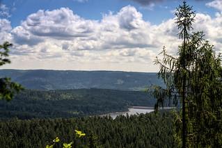 Westweg Etappe 3   Schwarzenbachtalsperre 1