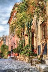 Ruelle du Vieux Cagnes (Xtian du Gard) Tags: xtiandugard cagnes ruelle painting aquarelle france