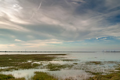 Under a wide Medway sky... (Locations Photography) Tags: canoneosd30 sigma1835mm medway saxon shore way ldp