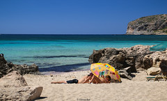 Summer is... (Yannis Raf) Tags: summeringreece summer beach tranquility crete greece canoneos70d canoneos sigma1750f28 postprocess postcard colours seascape greeklandscape