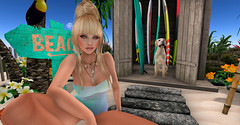 private-beach (__ Mariah1Moon __) Tags: secondlife sl second life m1m savoir faire look fashion decor catwa deco beach playa cosmopolitan redmint boutique 187