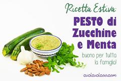 Ricetta estiva semplice e buona: Pesto di zucchine e menta (cucicucicoo) Tags: zucchine zucchina zucchini menta mandorla mandorle aglio pesto pestodizucchine mangiaresano ricetta ricette ricettaestiva ricetteestive