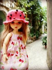Mila in Saint Paul de Vence - France (Essential Resinescence) Tags: fairyland littlefee ante poupee doll bjd resin yosd