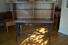 DSC_0002 (blueintuit) Tags: midcenturymodern mcm barcabinet vintage wicker rattan mahogany
