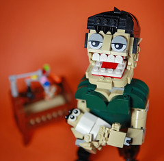 DOGOD_Super dad01_02 (DOGOD Brick Design) Tags: lego moc brick taiwan dogod super dad superdad baby sleep