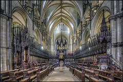 Lincoln Cathedral 21 (Darwinsgift) Tags: lincoln cathedral lincolnshire choir nikkor 19mm f4 pc e tilt shift tiltshift hdr nikon d810 tripod multiple exposure