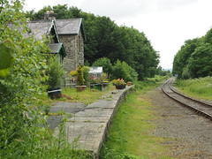 Wensley station (1), 2016 (Blue-pelican-railway) Tags: wensley yorkshire railway station closed