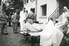 1942-08-11-beyrouth hôpital Maurice Roth