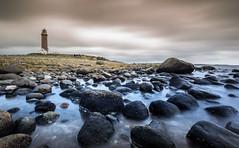 Lista Lighthouse (Kurt Evensen) Tags: norway longexposure landscape sea nature leefilter lighthouse sky seascape rockyshore weather le shore