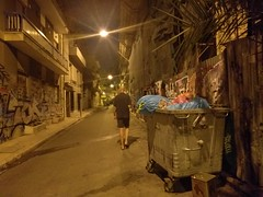 Night in Exarchia - Athens, Greece (ashabot) Tags: greece streetscenes street streetart graffiti exarchia