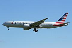 N758AN EGLL 23-05-2016 (Burmarrad (Mark) Camenzuli) Tags: airline american airlines aircraft boeing 777223er registration n758an cn 32637 egll 23052016