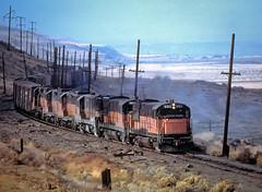 Hard-Luck Railroad (blair.kooistra) Tags: milwaukeeroad washington abandoned railroads abandonedrailroads hardluck u25b u28b decayporn