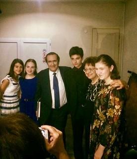 Michel Sogny et ses élèves à Batumi Géorgie