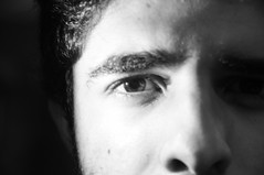 DSC_0113 (medeirosisabel16) Tags: guaratingueta etec school escola peb bw preto branco black white olho eye people pessoa homem plano detalhe detail plane eyebrow sobrancelha