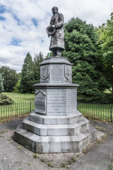 Seán Russell Memorial In Fairview Park [By Willie Malone]-131801 (infomatique) Tags: statue bronze seánrussell monument memorial williemalone fairviewpark 2009 1951 williammurphy infomatique fotonique