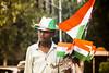 Vande Mataram (Shikher Singh) Tags: flag tricolour independence independenceday nationalcolours tiranga souvenirs badge hat boy vendor shikhersimagery