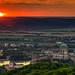 Sunset in Esztergom