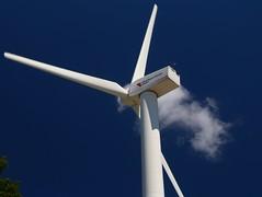 Vane (pics by ben) Tags: iowastatefair desmoines turbine wind blue midamerican