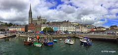 Cobh Waterfront (pandt) Tags: cobh ireland iphone panorama waterfront boats water clouds coast oceant countycork cork marina docks