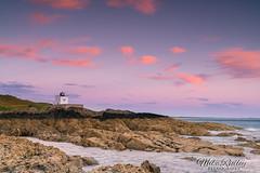 Bamburgh ... (Mike Ridley.) Tags: bamburghlighthouse bamburgh northumberland northeastcoast seascape sunrise dawn redsky red sonya7r2 leefilters nisilandscapepolariser nisi mikeridley
