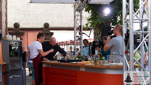 Tom und Frank kochen