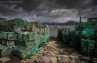 Lobster Pots at Plockton