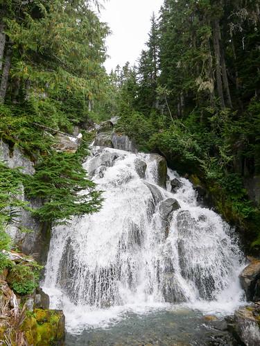 Upper 19 Mile Creek trail - upper falls