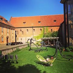 Sculptures and art in the yard of the cloister of Saint Agnes… #sculpture #art #Skulpturen #prag #praha #prague #kunst (Chajm) Tags: ifttt instagram sculpture art skulpturen prag praha prague kunst