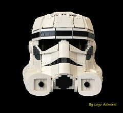 Wearable Lego Stormtrooper Helmet (Lego Admiral) Tags: wearable lego stormtrooper helmet starwars empirestrikesback returnofthejedi legoadmiral empire