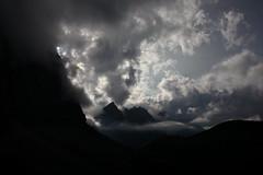 still there (bkellerstrass) Tags: werehere wah hereios alps karwendel falkenhütte laliderer sun sonne wolken clouds gegenlicht
