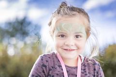 IMG_7888_red (Eivind Nielsen) Tags: daughter girl paint smile summer