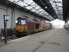Don't Skip The Dram! (jalapenokitten) Tags: 67007 67009 class67 diesel locomotive railway inverness scotland unitedkingdom gbr
