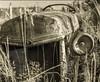 Here's Lookin' At Ya (garshna) Tags: 6282 tractor old abandoned rusty headlight