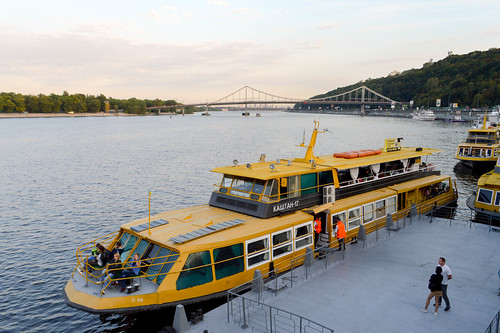 The Dnieper at Podil