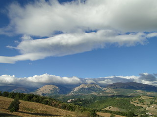 September clouds