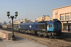A 66 but not as you know it. Luxor 22.02.2010 (Chris Firth of Wakey.) Tags: luxor egypt class66 2128