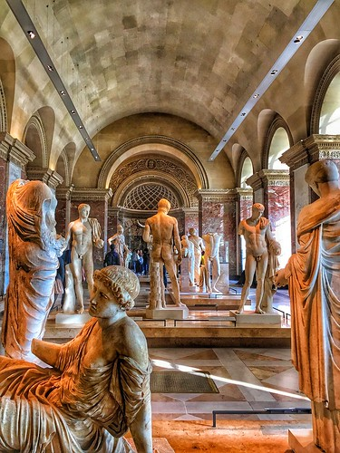 Paris  France ~ Louvre Museum ~  Department of Greek Etruscan and Roman Antiquities  ~ Historic