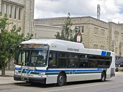 London Transit Commission 351 (YT | transport photography) Tags: london transit commission new flyer xd40 xcelsior bus